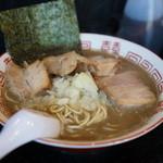 中華ソバ 伊吹 - ブログ限定700円+豚まし100円