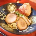 ラーメン考房 昭和呈 - ずわい蟹の濃厚まぶし潮麺☆