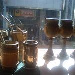 ひじかた園 - ディスプレイされた茶器