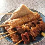 澤田店 - しょうが醤油をかけて食べる姫路名物の関東煮です。