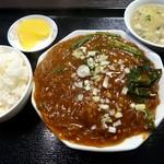 24700388 - 麻婆春雨定食(2014/03/07撮影)