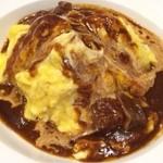 ガスト - 料理写真:オムライスビーフシチューソース¥599