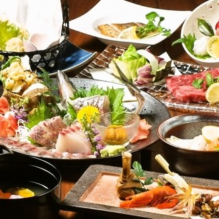 ●接待・祝宴に和食料理コースが3800/4800/5800