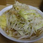 ラーメン二郎 - 小ラーメン(650円)ショウガ、アブラ