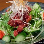ゆにおん食堂 - 【2013年10月訪問】ゆにおんサラダ(魚)