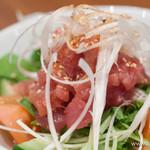 ゆにおん食堂 - ゆにおんサラダ(魚)