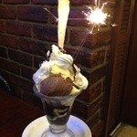 ジュリエ - チョコレートパフェ ¥580