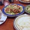 くいしんぼ - 料理写真:チキン香味ソース+洋セット 2014