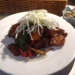 アジアンヒート - 黒酢酢豚