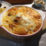 アジアンヒート - エビチリのチーズオーブンや気