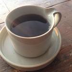 ヤマウシ小屋 - ドリンク写真:コーヒー
