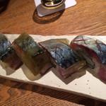 旬魚菜 よし田 - 松前寿司