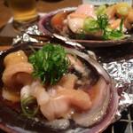 旬魚菜 よし田 - 蛤醤油焼き