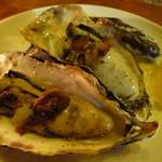 東京 ITALIAN AKATSUKA - 牡蠣のラルド焼き