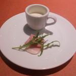 24715769 - 一口オードブルと季節のスープ