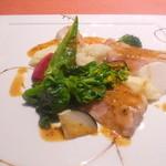 24715771 - 庄内豚のグリエmマスタードソース