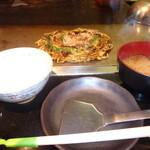 さくら - モダン焼き定食