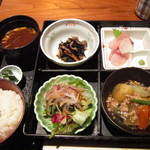 和菜酒房 楔家 - 天ぷら松花堂弁当@1730円(内税)