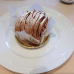 リンタロウ カフェ - モンブラン480円