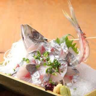 お肉だけではありません。お魚も長崎の新鮮なプリっぷりな魚です