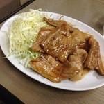 元町食堂 - 生姜焼単品