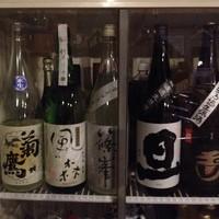 グルペット - 美味しい日本酒も置いてます。