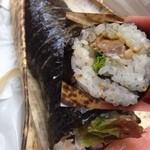 鯖一本店 - 焼き鯖寿司のイメージと違う^_^