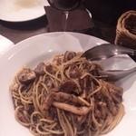 アノーニモ - ポルチーニ茸のパスタ