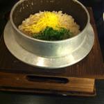 醪音 - 釜飯 じゃこと山椒の炊き込みご飯(¥880)