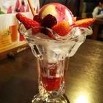 びっくりドンキー - Bocca 白いプリンパフェ(春季限定)