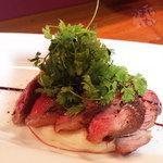 ワインビストロ ピコレ - 「黒部和牛かいのみステーキ」 1,890円