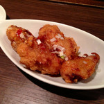 担担麺 胡 - 唐揚げ スイートチリソース