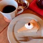 5 - コーヒーとモカチーズケーキ♪