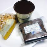 24727469 - ティラミス&パンプキンパイ&いちじくショコラケーキ