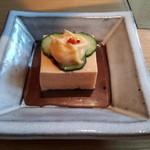 24729071 - 【ざくろの和食コース】アスパラ豆腐