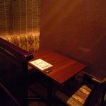 入母屋 - 個室風のお部屋。