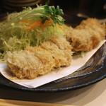 とん太 - 特ヒレかつ定食 (2014/03)