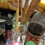 24732050 - いつもお箸と間違えるマドラー(^^;)