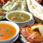 ガナパティ・ババ - 料理写真:インド・ネパール風のパーティーをお楽しみ頂けます