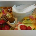 パティスリー カプリス - 自宅用のケーキ達