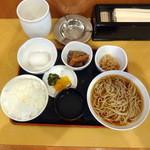 元禄そば 江戸一 - 朝定食500円