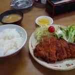 三原屋食堂 - カツ定食