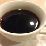 中国四川料理天悠 - 食後のコーヒー