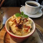パティスリーカフェ ポッシュ - さつま芋のレアチーズ