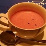 24740922 - 紫いものスープ