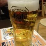 呑む三 - 生ビール:380円