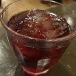 呑む三 - かち割りワイン(赤):280円
