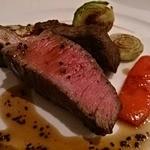 カンブーザ - 山形牛 ランプ肉の炭火焼き トリュフソース