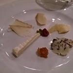 カンブーザ - チーズのもりあわせ