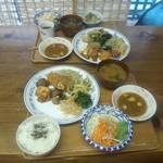 自然派レストラン おばんざい - 自然派レストラン おばんざいの料理(12.07)